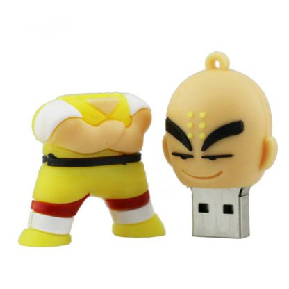 Cle-USB-Dragon-Ball-Krilin-ouverte