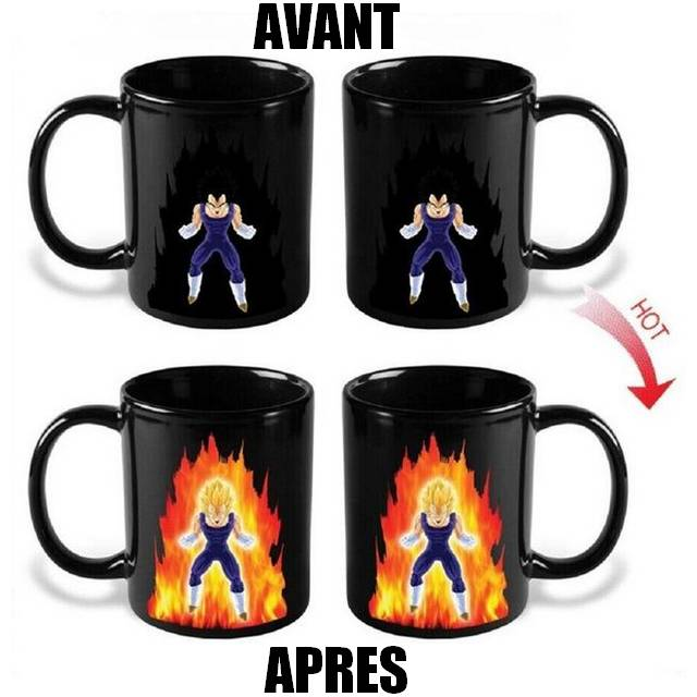 Saiyan Ball Z Vegeta Super Dragon Mug fyb67g