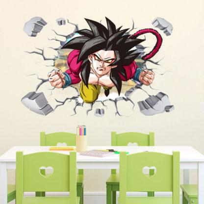 Sticker-Mural-Dragon-Ball-GT-Goku-Super-Saiyan-4