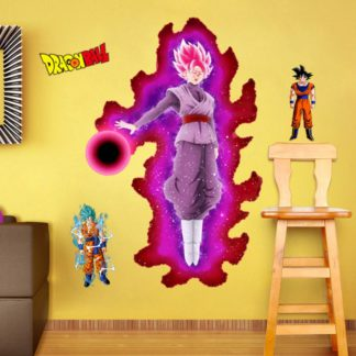 Sticker-Mural-Dragon-Ball-Super-Goku-Black
