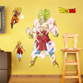 Sticker-Mural-Dragon-Ball-Z-Broly