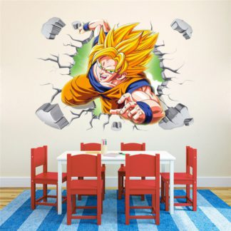Sticker-Mural-Dragon-Ball-Z-Goku-SSJ