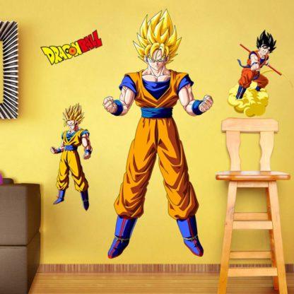 Sticker-Mural-Dragon-Ball-Z-Goku-Super-Saiyan