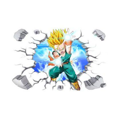 Sticker-Mural-Dragon-Ball-Z-Trunks-Super-Saiyan
