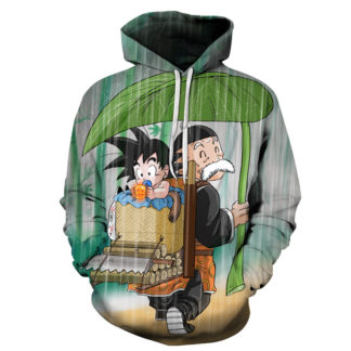 Sweat-a-Capuche-Dragon-Ball-Goku-Bebe-Son-Gohan