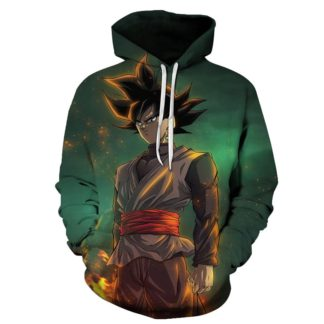 Sweat-a-Capuche-Dragon-Ball-Goku-Black