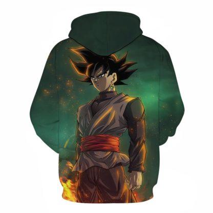 Sweat-a-Capuche-Dragon-Ball-Goku-Black-dos