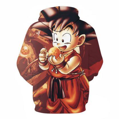 Sweat-a-Capuche-Dragon-Ball-Goku-Boule-de-Cristal-dos