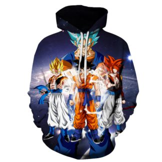 Sweat-a-Capuche-Dragon-Ball-Goku-Gogeta-Transformation