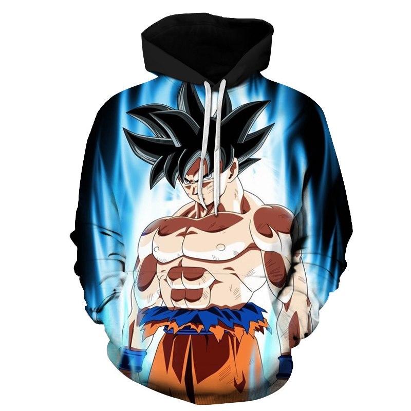 Sweat à Capuche Dragon Ball Goku Ultra Instinct Saiyan Boutik