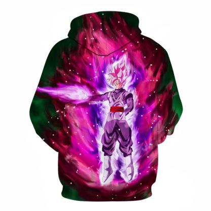 Sweat-a-Capuche-Dragon-Ball-Super-Goku-Black-SSJ-Rose-dos