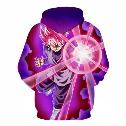 Sweat-a-Capuche-Dragon-Ball-Super-Goku-Black-Super-Saiyan-Rose-dos