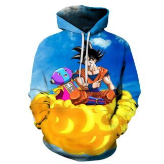 Sweat-a-Capuche-Dragon-Ball-Super-Goku-Roi-Zeno