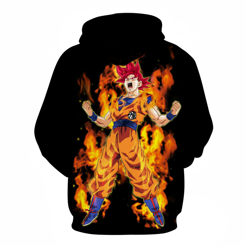Sweat à Capuche Dragon Ball Super Goku Super Saiyan Divin