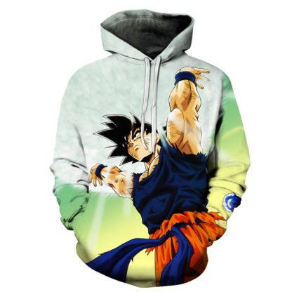 Sweat-a-Capuche-Dragon-Ball-Z-Goku-Force-Universelle
