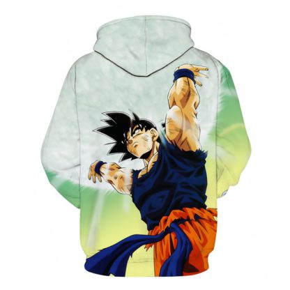 Sweat-a-Capuche-Dragon-Ball-Z-Goku-Force-Universelle-dos