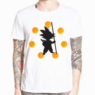Tee-Shirt-Dragon-Ball-Goku-7-Boules-de-Cristal