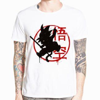 Tee-Shirt-Dragon-Ball-Goku-Enfant-Baton-Magique