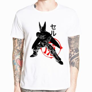 Tee-Shirt-Dragon-Ball-Z-Cell