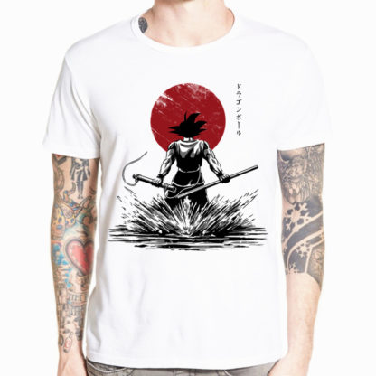 Tee-Shirt-Dragon-Ball-Z-Goku-Guerrier