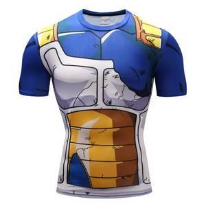 Tee Shirt Musculation Dragon Ball