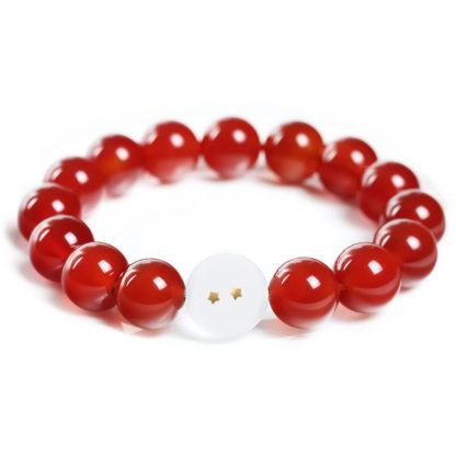 Bracelet-Dragon-Ball-2-Etoiles-rouge