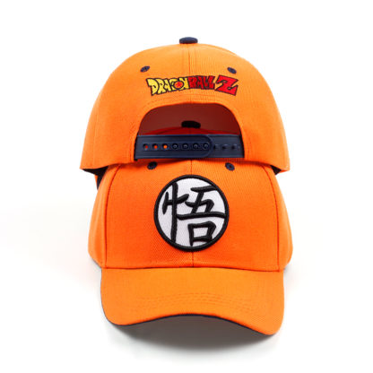Casquette-Dragon-Ball-Z-Orange