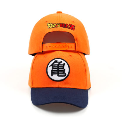 Casquette-Dragon-Ball-Z-Orange-Bleu