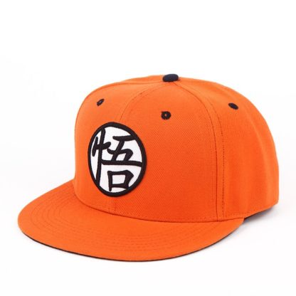 Casquette-Snapback-Dragon-Ball-Z-Orange