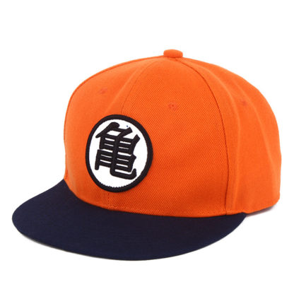 Casquette-Snapback-Dragon-Ball-Z-Orange-Bleu