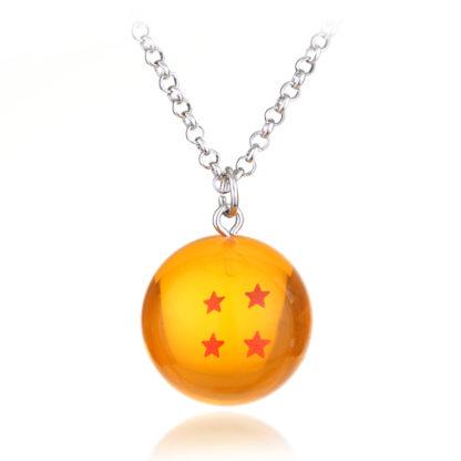 Collier-Dragon-Ball-Z-Boule-de-Cristal-4-etoiles
