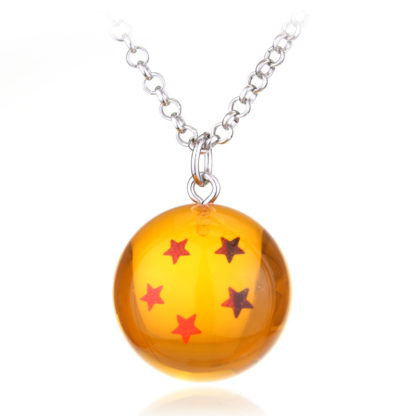 Collier-Dragon-Ball-Z-Boule-de-Cristal-5-etoiles
