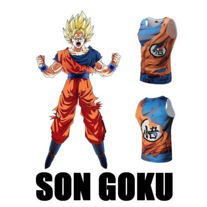Debardeur-Dragon-Ball-Z-Goku-SSJ-a