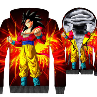 Manteau-Dragon-Ball-GT-Goku-Super-Saiyan-4