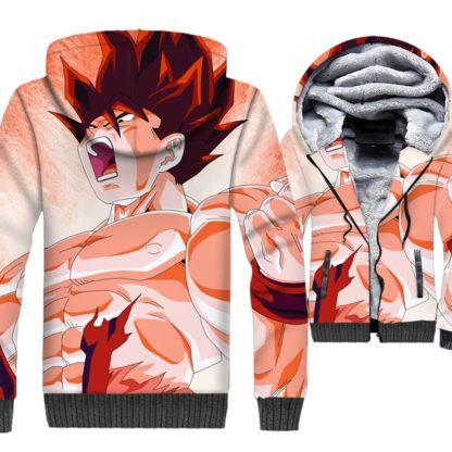 Manteau-Dragon-Ball-Goku-Kaioken
