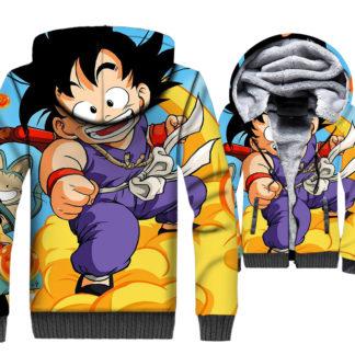 Manteau-Dragon-Ball-Goku-Nuage-Magique