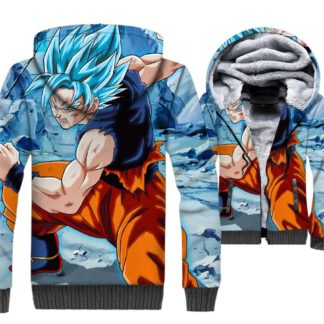 Manteau-Dragon-Ball-Goku-Super-Saiyan-Bleu