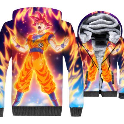 Manteau-Dragon-Ball-Super-Goku-SSJ-God