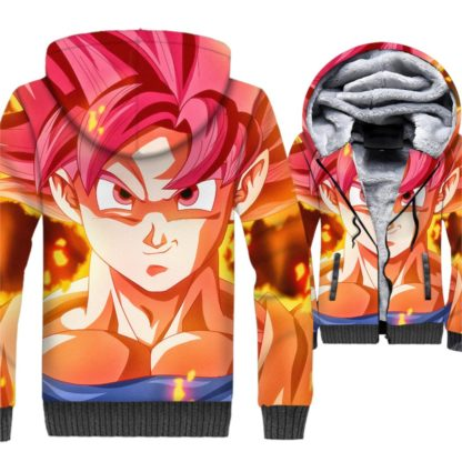 Manteau-Dragon-Ball-Super-Goku-Super-Saiyan-Divin