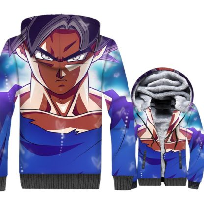 Manteau-Dragon-Ball-Super-Goku-Ultra-Instinct-Maitrise