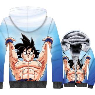 Manteau-Dragon-Ball-Z-Goku-Force-Universelle