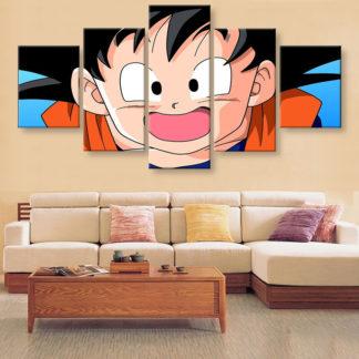 Tableau-Dragon-Ball-Goku-enfant