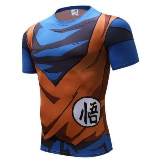 Tee-Shirt-Musculation-Dragon-Ball-Z-Kanji-Go