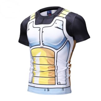 Tee-Shirt-Musculation-Dragon-Ball-Z-Saiyans