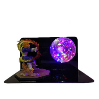Lampe-Plasma-Dragon-Ball-Z-Vegeta