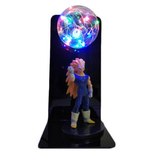 Lampe-Plasma-Dragon-Ball-Z-Vegeta-SSJ3