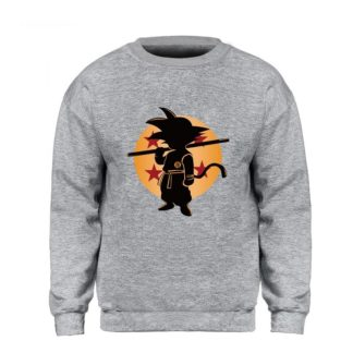 Sweat-Dragon-Ball-Goku-Boule-de-Cristal-Gris