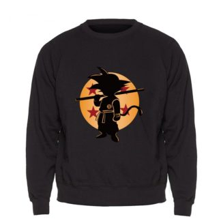 Sweat-Dragon-Ball-Goku-Boule-de-Cristal-Noir