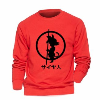 Sweat-Dragon-Ball-Goku-Rouge-Noir