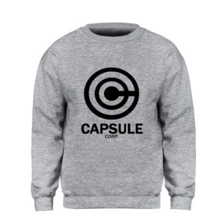 Sweat-Dragon-Ball-Z-Capsule-Corp-Gris-Noir